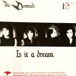 "Damned (The) - Is It A Dream (12"") (VG/VG)"